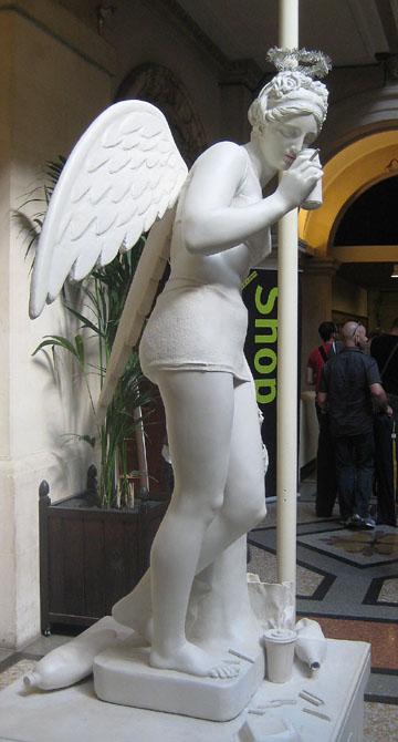 Banksy Drunk Angel