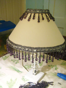 Finished lamp